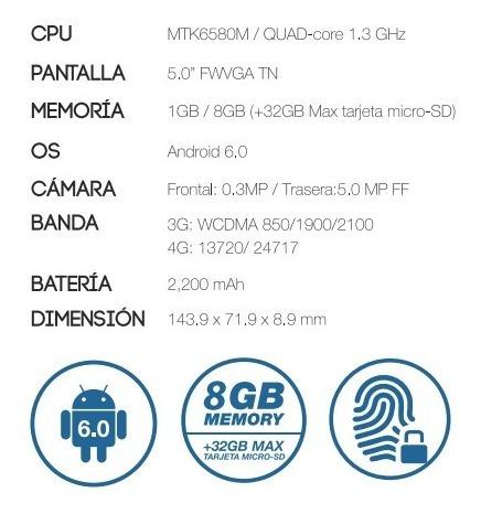 celular hyundai  l500 lte