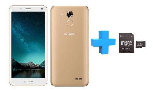 celular hyundai l503f plus 16gb 4g microsd 32gb para