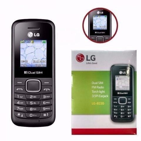 celular idoso simples lg b220 dual chip original lanterna