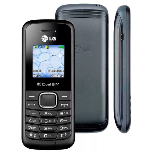 celular idoso simples lg b220 dual chip rádio fm - lanterna