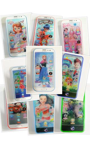 celular infantil 3d emite sons uma fofura !a unidade
