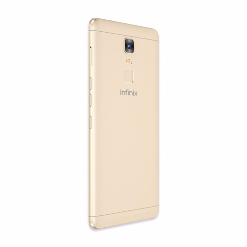 celular infinix note 3 x601 dorado 4g + case + screen
