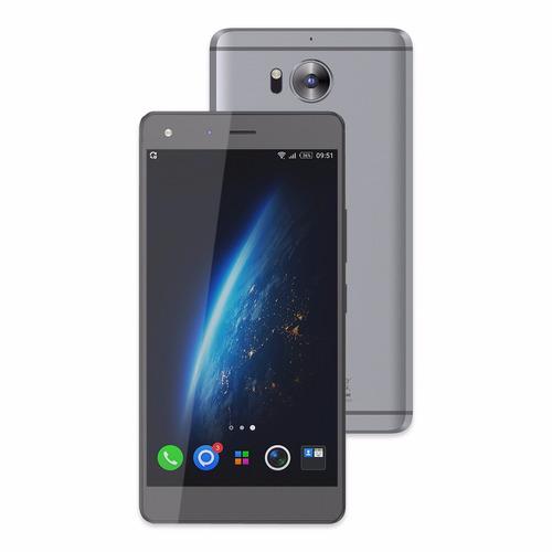 celular infinix zero 4 x555 gris 4g + case + screen