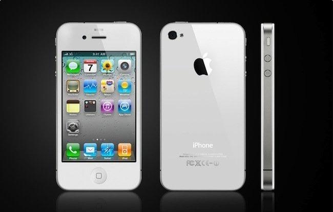 631ee3d39 Celular iPhone 4 32gb White Impecable Estado 8.7p Libre - $ 15.000 ...