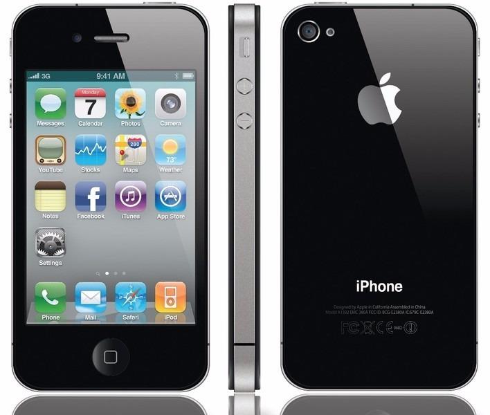 e3aba0145 Celular iPhone 4 - R$ 850,00 em Mercado Livre