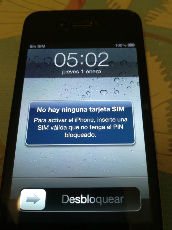 29e6055dd celular iphone 4 apple at&t sin cargador smartphone técnicos. Cargando zoom.