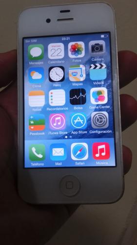 celular iphone 4 de 16 gigas libre de operador