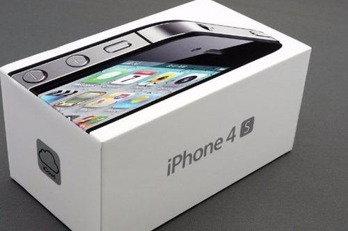 celular iphone 4s 16gb original  caja sellada calidad negro