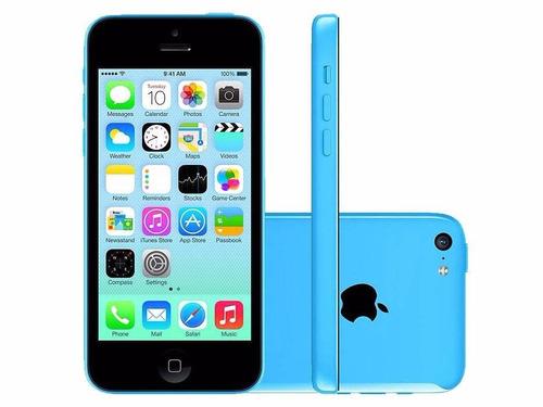 celular iphone 5c 16gb azul grado b