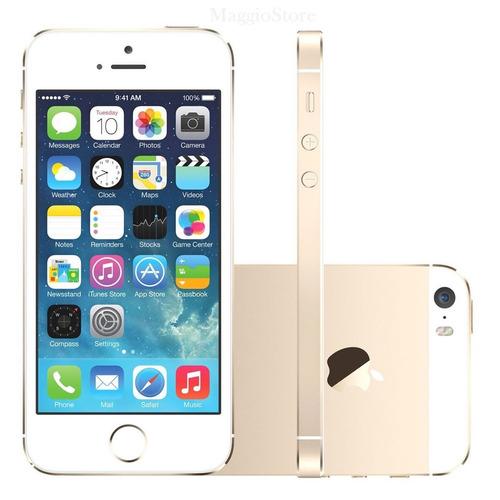 celular iphone 5s 32gb gold dourado usado 100% funcionando b