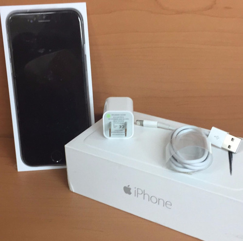 celular iphone 6 - 16 gb + accesorios originales y regalos