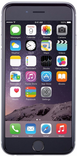 celular iphone 6 space gray 16gb nuevo no remanufacturado