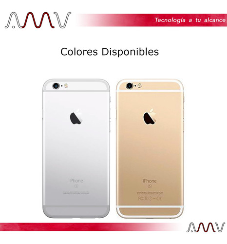 celular iphone 6s plus 5,5 16gb lte nuevo! desbloqueado amv
