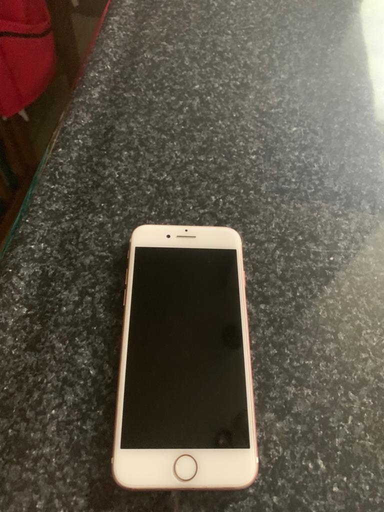 ba23f03ca7c Celular iPhone 7 32gb Original Rosa - $ 8,000.00 en Mercado Libre