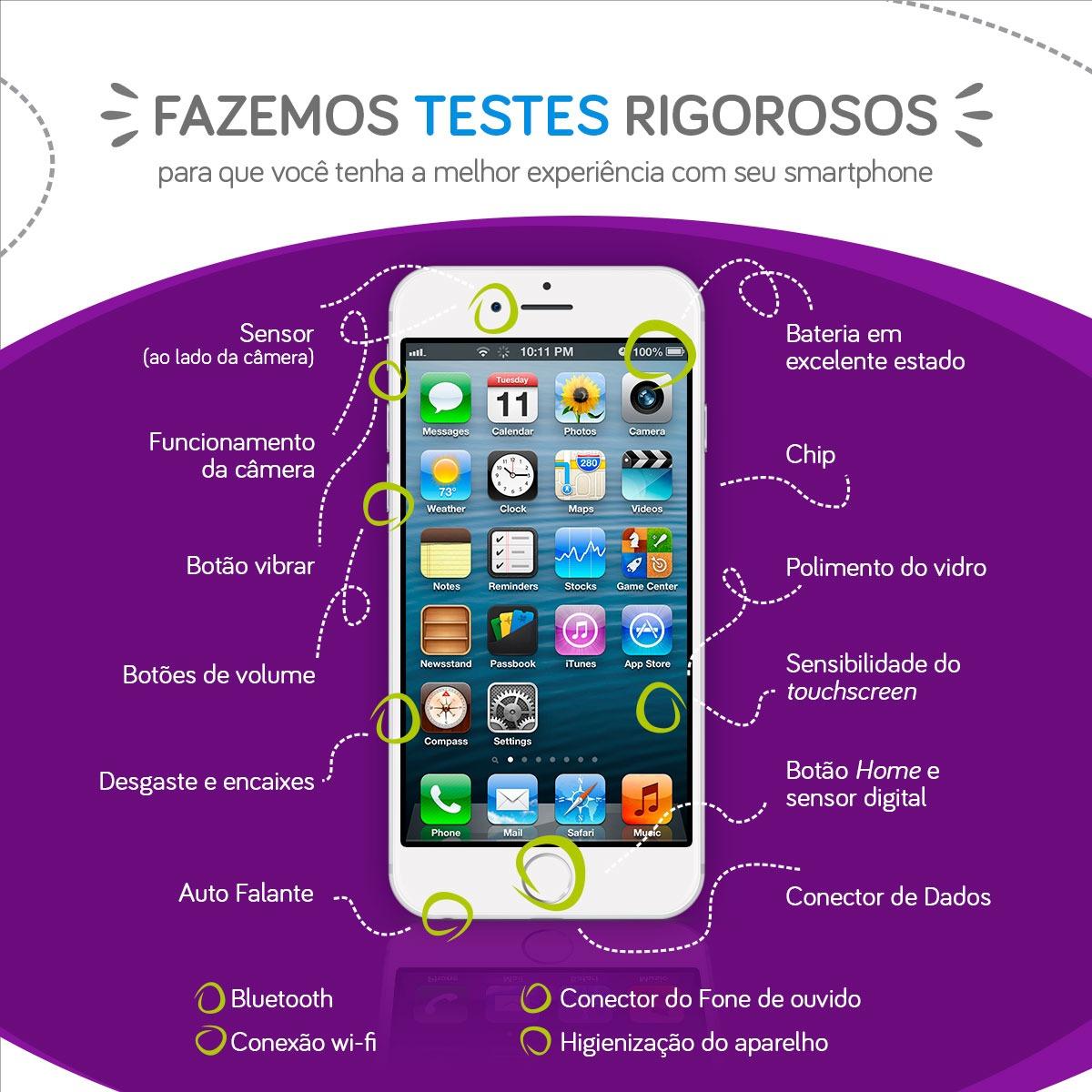 774ac014bdb Celular iPhone 7 32gb Rosa - Excelente - R$ 2.299,00 em Mercado Livre