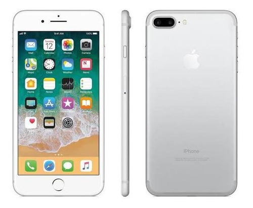 celular iphone 7 plus 32gb color blanco