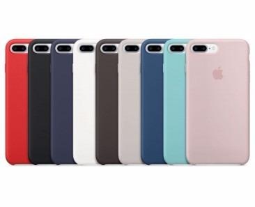 celular iphone 7 plus 32gb + funda apple + vidrio templado