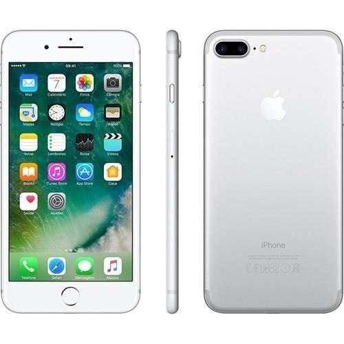 celular iphone 7 plus 32gb tela de 5,5', câmera 12mp - 4g