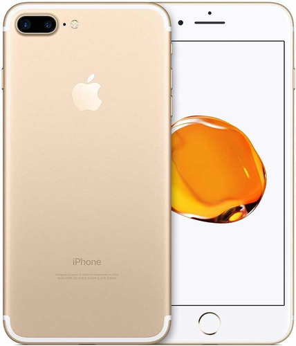 celular iphone 7plus 32gb golden