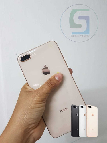 celular iphone 8 plus 64 y 256gb seminuevo con garantia