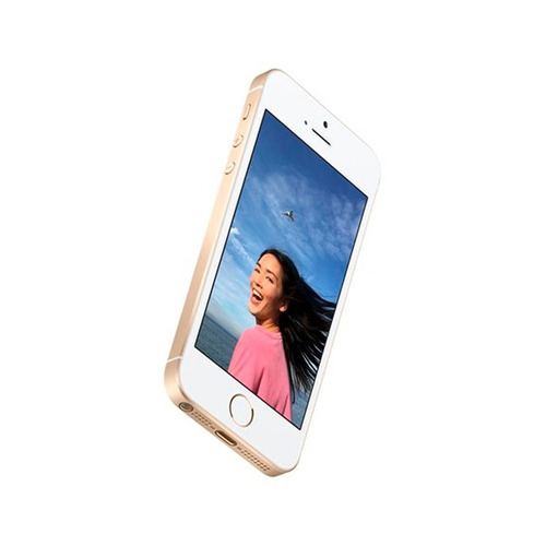 celular iphone se 4g 16gb gold - netpc