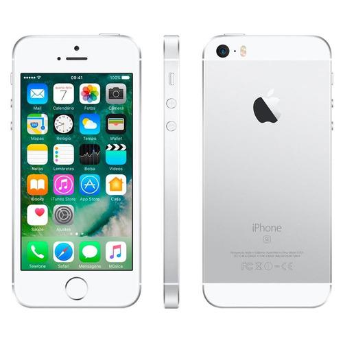 celular iphone se prata 32gb apple