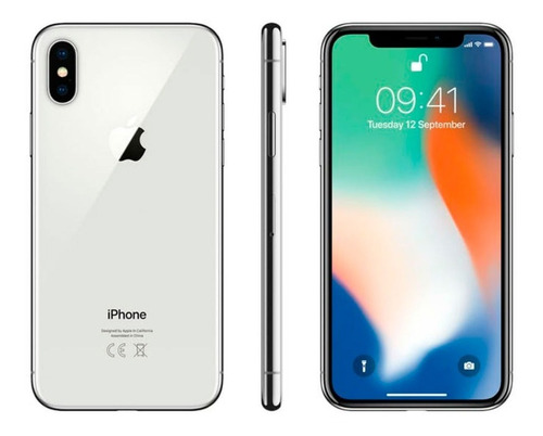 celular iphone x 256 gb reacondicionado por apple 12 mpx