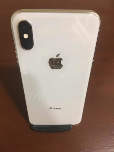 celular iphone x 256gb estado 10/10 color blanco
