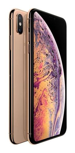 celular iphone xs max gold de 512 gb  exhibicion