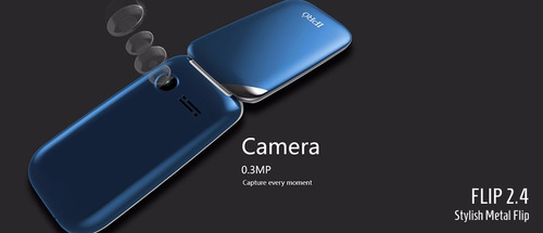 celular ipro flip 2.4 tapa dual sim camara radio microsd