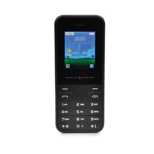 celular kempler & strauss basic phone desbloqueado dual sim