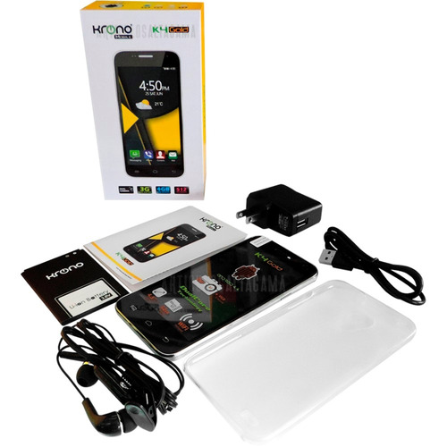 celular krono k4 gold doble sim 3g gps wifi radio fm android