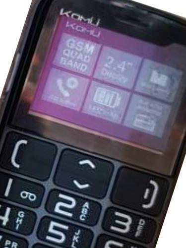 celular kumo especial adultos mayores teclas grandes