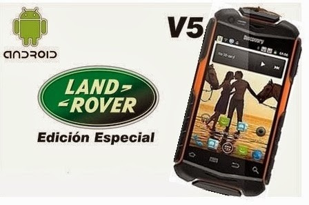 celular land rover discovery5 gx-c02 sumergible resit golpes