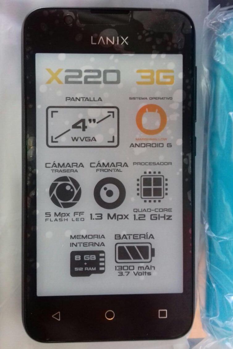 Celular Lanix X220 Telcel - $ 1,200.00 en Mercado Libre