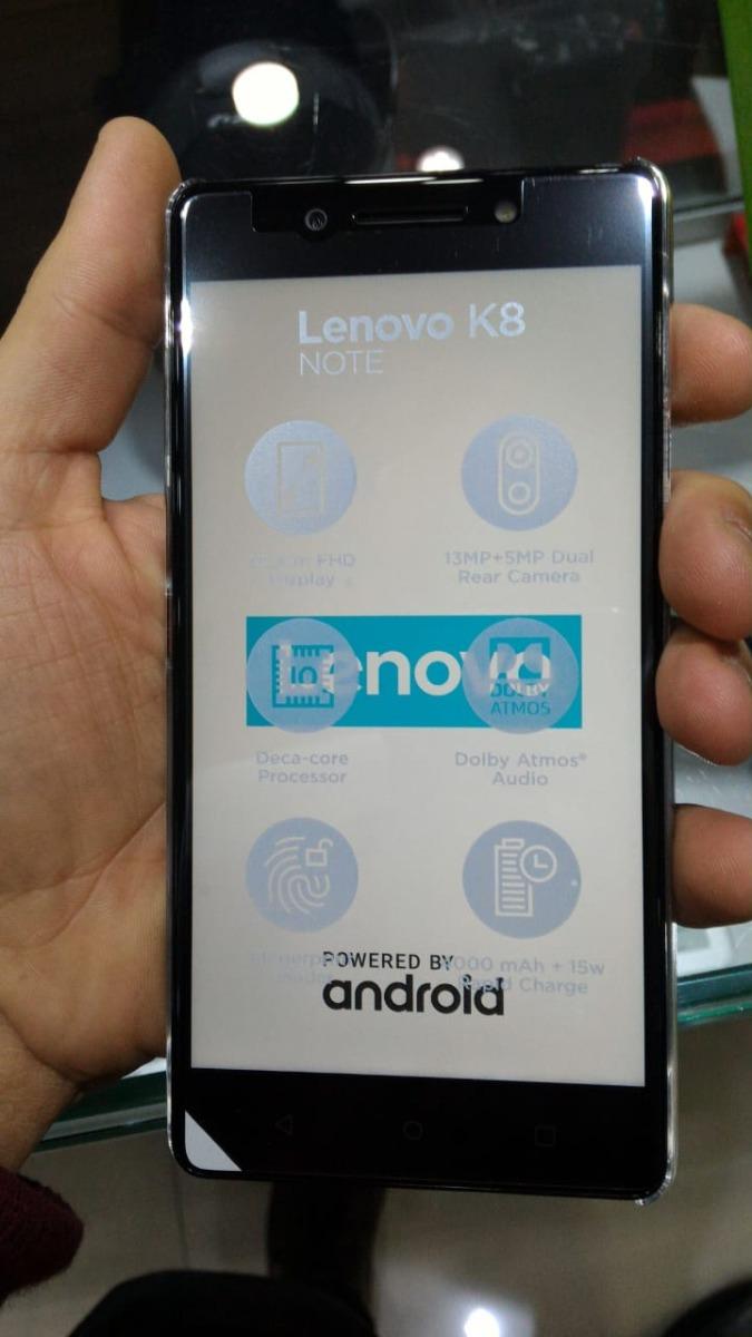 Celular Lenovo K8 Note 3gb Ram Dual 32gb Dual Preto+cap+fn