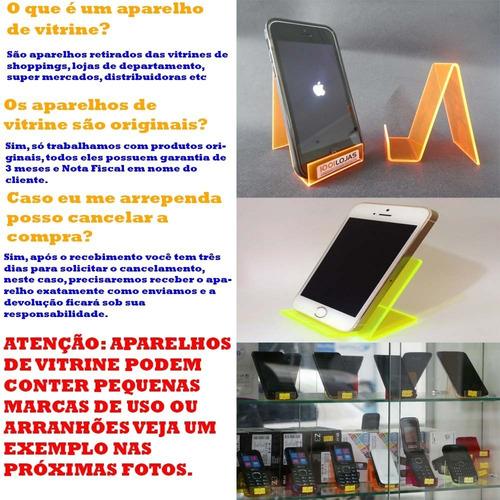 celular lenovo vibe k6 plus 32gb 3gb ram vitrine + brindes