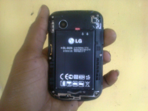 celular lg 306g negociable 15 verds