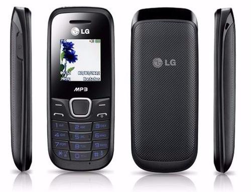 celular lg a270 original - 1 chip - rádio fm - antena rural