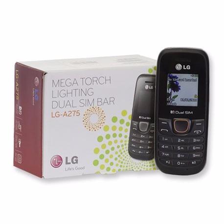 celular lg a275 dual chip - promoção