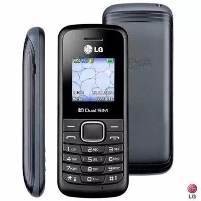 celular lg b220 dual chip fm lanterna antena rural, oferta
