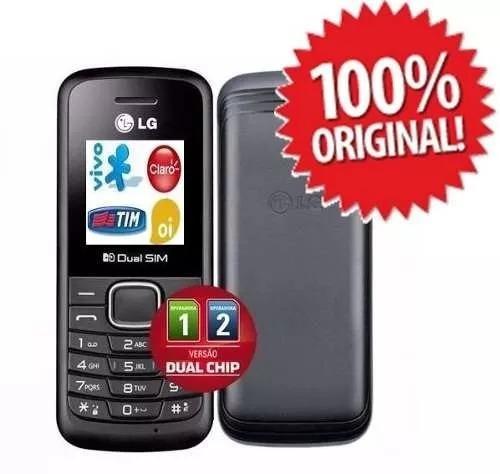 celular lg b220 dual chip quad band fm  antena rural barato