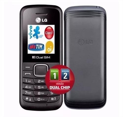 celular lg b220 dual chip radio fm