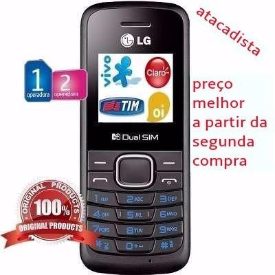 celular lg b220 preto *compra segura* - revenda/atacado