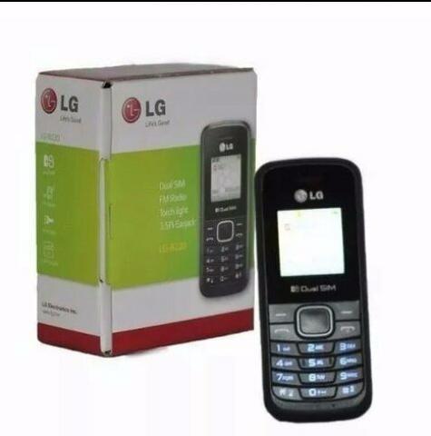 celular lg b220  radio lanterna entrada 2 chip a275 idoso