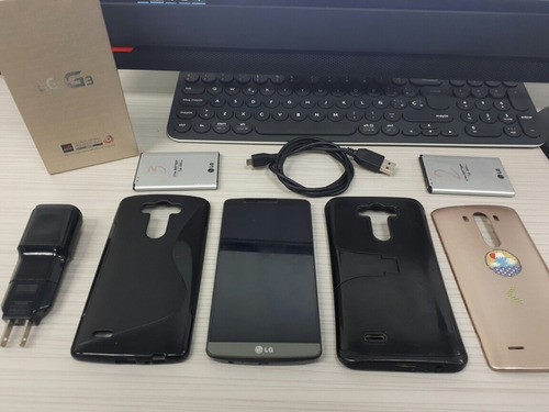 celular lg g3 32gb doble sim + accesorios, root