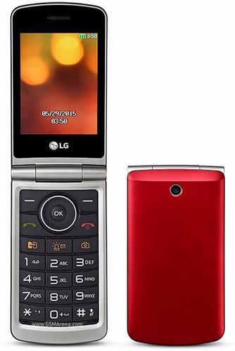 celular lg-g360 con tapita teclado y pantalla grande nuevo