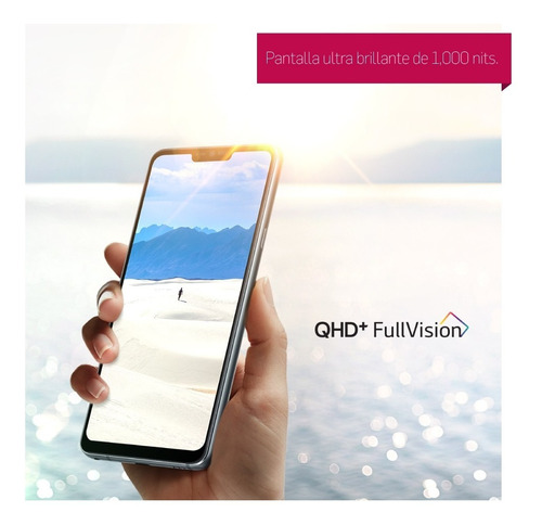 celular lg g7 thinq 64gb 4gb qhd fullvision garantia oficial