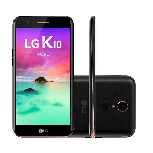 celular lg k10 novo 2017 4g m250ds 32gb preto tela 5,3
