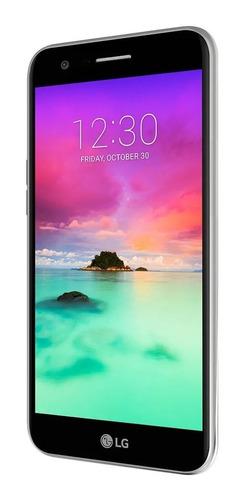 celular lg k10 pantalla 5.3   titan - 2017 oferta nuevo